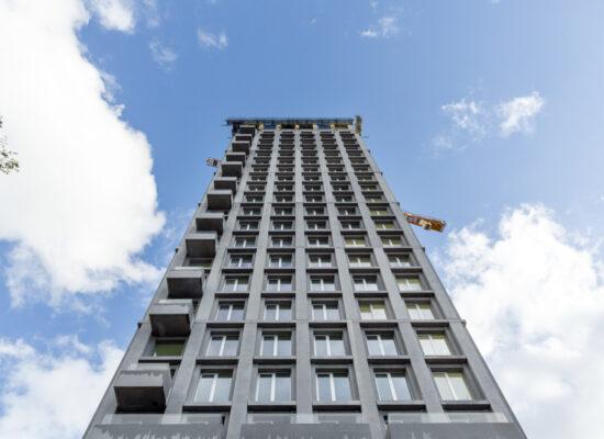 Zicht DRDH Architects London; Triple Living; Nieuw Zuid Antwerpen