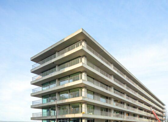Triple living antwerpen nieuw zuid havn Johannes Norlander arkitektur